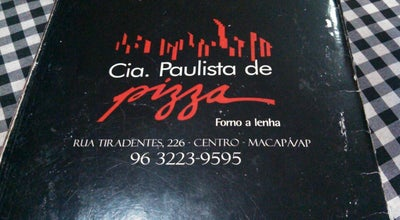 Photo of Pizza Place Cia Paulista de Pizza at R. Tiradentes, Macapá 68908-126, Brazil