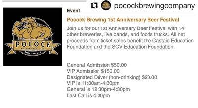Photo of Brewery Pocock Brewing Company at 24907 Avenue Tibbitts, Santa Clarita, CA 91355, United States