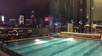 Photo of Pool Gym & Pool • Hotel ICON at 17 Science Museum Road, Tsim Sha Tsui, Hong Kong