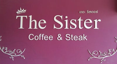 Photo of Cafe ร้านกาแฟ The Sister Coffee&Steak (มหาชัย) at Thailand