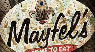 Photo of Cajun / Creole Restaurant Mayfel's at 22 College St, Asheville, NC 28801, United States