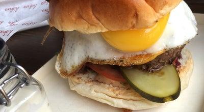 Photo of American Restaurant Brooklyn Burgers n' Bar at Stora Torget, Visby, Sweden