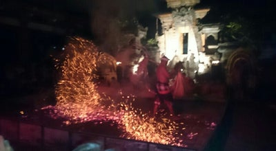 Photo of Opera House Kecak Fire and Trance Dance at Jalan Sriwedari (pura Dalem Taman Kaja), Ubud, Indonesia