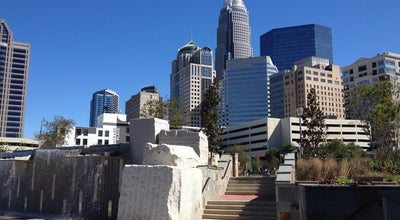 Photo of Park Romare Bearden Park at 300 S Church St, Charlotte, NC 28202, United States