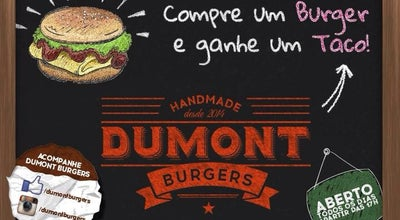 Photo of Burger Joint Dumont Burgers at Rua Santos Dumont, 3493, Toledo, Brazil