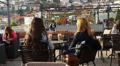 Photo of Cafe Kadmo Lounge Bar at Ohrid, Macedonia