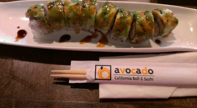 Photo of Sushi Restaurant Avocado California Roll and Sushi at Cedar Hill, TX, United States