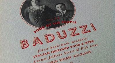 Photo of Italian Restaurant Baduzzi at Asb North Wharf, Auckland, New Zealand