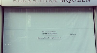Photo of Clothing Store Alexander McQueen at 417 W 14th St, New York, NY 10014, United States