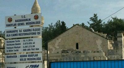 Photo of Mosque kadirli alacamii at Turkey