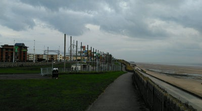 Photo of Beach Blackpool Promenade at Promenade, Blackpool, United Kingdom