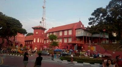 Photo of Historic Site Melaka Bangunan Merah Bersejarah at Malaysia