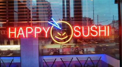 Photo of Sushi Restaurant Happy Sushi at Kruisplein 42, Rotterdam 3012 CC, Netherlands