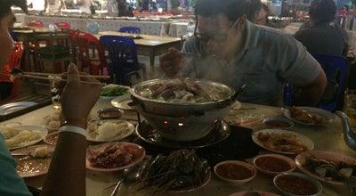 Photo of BBQ Joint ดอกปีบกุ้งกะทะ at Tha Tum, Thailand