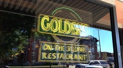 Photo of American Restaurant Goldens at 9 E Court Sq, Newnan, GA 30263, United States