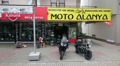 Photo of Motorcycle Shop MotoAlanya at Cumhuriyet Mah.keykubat Bulvari No 256/a, Alanya İlçesi 07400, Turkey