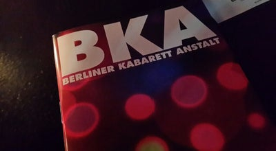Photo of Comedy Club BKA Theater at Mehringdamm 34, Berlin 10961, Germany