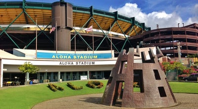 Photo of Stadium Aloha Stadium at 99-500 Salt Lake Blvd., Honolulu, HI 96818, United States