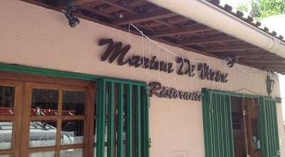 Photo of Italian Restaurant Marina Di Vietri at R. Miguel Calfat 290, São Paulo 04537-081, Brazil