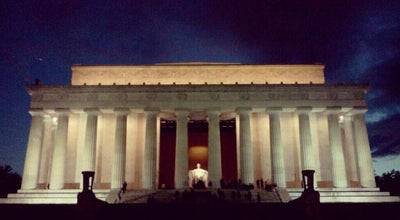 Photo of Monument / Landmark Lincoln Memorial at Lincoln Memorial Circle Sw, Washington, DC 20024, United States