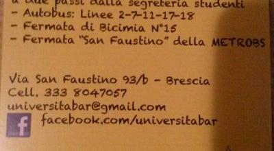 Photo of Bar Bar Università at Via San Faustino 93/b, Brescia, Lombardia, Italy