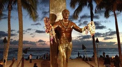 Photo of Outdoor Sculpture Duke Kahanamoku Statue at 2365 Kalakaua Ave, Honolulu, HI 96815, United States