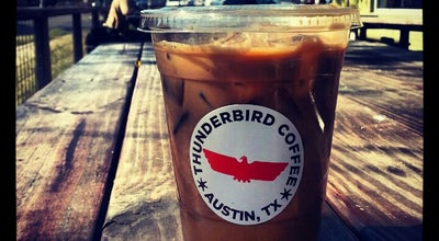 Photo of Coffee Shop Thunderbird Coffee at 2200 Manor Rd, Austin, TX 78722, United States