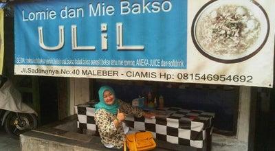 Photo of Ramen / Noodle House :: Mie Baso & Lomie ULIL :: at Jl. Raya Sadananya, Ciamis, Indonesia