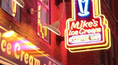Photo of Ice Cream Shop Mike's Ice Cream Fountain at 208 Broadway, Nashville, TN 37201, United States