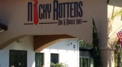 Photo of American Restaurant Nicky Rotten's Burger and Bar at 3773 Willow Glen Dr, El Cajon, CA 92019, United States