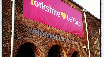 Photo of Monument / Landmark Welcome to Yorkshire at Dry Sand Foundry, Leeds LS11 5QN, United Kingdom