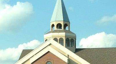 Photo of Church St Monica's Catholic Church at 2001 N Western Ave, Edmond, OK 73003, United States