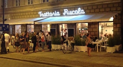 Photo of Italian Restaurant Trattoria Rucola at Miodowa 1, Warszawa 00-080, Poland