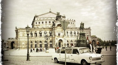 Photo of Opera House Semperoper at Theaterplatz 2, Dresden 01067, Germany