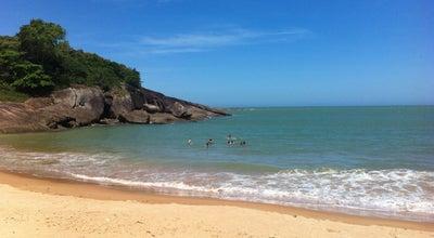Photo of Beach Praia dos Padres at Guarapari 29208-220, Brazil