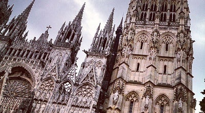 Photo of Church Cathédrale Notre-Dame de Rouen at Place De La Cathédrale, Rouen 76000, France