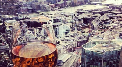 Photo of Champagne Bar Vertigo 42 at 25 Old Broad St, Tower 42, City of London EC2N 1HQ, United Kingdom