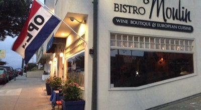 Photo of French Restaurant Bistro Moulin at 867 Wave St, Monterey, CA 93940, United States