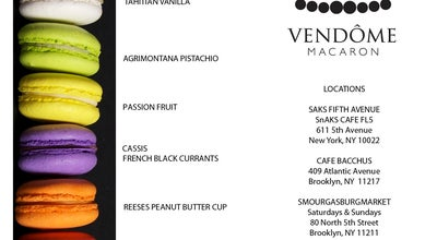 Photo of Food and Drink Shop Vendome Macaron at 409 Atlantic Ave, Brooklyn, NY 11217, United States