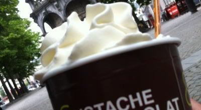 Photo of Ice Cream Shop Pistache & Chocolat at Place Du Marché 23, Liege 4000, Belgium