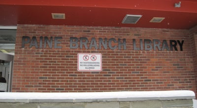 Photo of Library Paine Branch Library - Onondaga County Public Library System at 113 Nichols Ave, Syracuse, NY 13206, United States