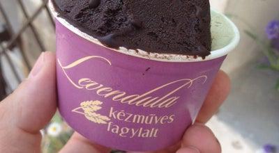 Photo of Ice Cream Shop Levendula Fagylaltozó at Fő Tér 8., Szentendre 2000, Hungary