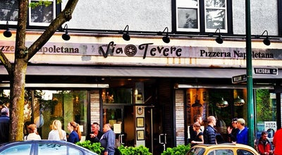 Photo of Pizza Place Via Tevere at 1190 Victoria Dr, Vancouver, Br V5L 4G5, Canada