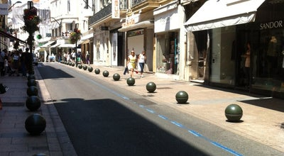 Photo of Road Rue d'Antibes at Rue D'antibes, Cannes 06400, France