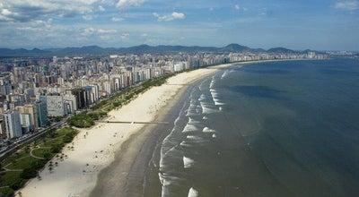 Photo of Beach Praia do Boqueirão at Av. Vicente De Carvalho, Santos 11045-500, Brazil
