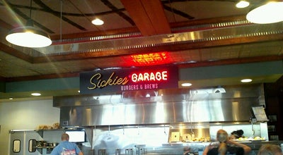 Photo of Burger Joint Sickies Garage Burgers & Brews at 3431 Fiechtner Dr S, Fargo, ND 58103, United States