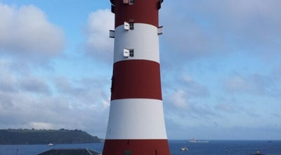 Photo of Monument / Landmark Smeaton's Tower at Plymouth Hoe, Plymouth PL 1 2, United Kingdom