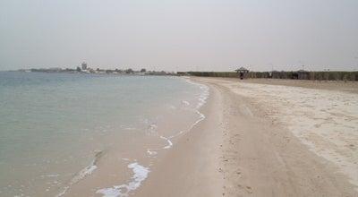 Photo of Beach Half Moon Beach شاطئ نصف القمر at Khobar, Saudi Arabia