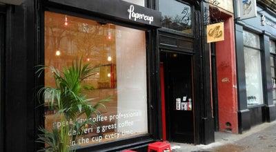 Photo of Coffee Shop Papercup at 603 Great Western Road, Glasgow G12 8HX, United Kingdom