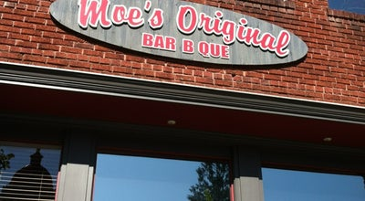 Photo of BBQ Joint Moe's Original BBQ at 114 N Main St, Hendersonville, NC 28792, United States